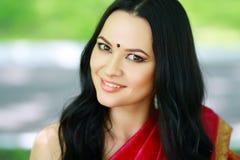 Jonge Indische vrouw Stock Afbeeldingen