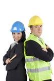 Jonge ingenieurs Stock Foto's