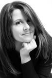 Jonge intellectuele vrouw Stock Foto