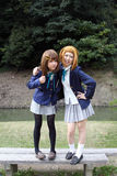 Jonge Japanse cosplayers Stock Afbeeldingen