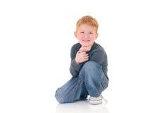 Jonge jongen Stock Foto