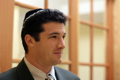 Jonge Joodse mens royalty-vrije stock foto's