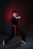 Jonge Karatemens. Stock Afbeeldingen
