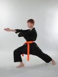 Jonge Karatemens. Stock Fotografie