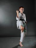 Jonge Karatemens. Royalty-vrije Stock Afbeeldingen