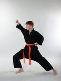 Jonge Karatemens. Royalty-vrije Stock Afbeelding