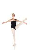 Jonge Kaukasische ballerina stock afbeeldingen
