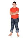 Jonge Kaukasische jongen Stock Afbeelding