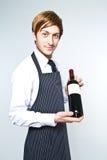 Jonge kelner Stock Foto's
