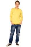Jonge kerel status Stock Foto's