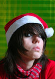 Jonge Kerstman Stock Afbeeldingen