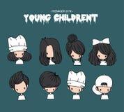 Jonge kinderen Royalty-vrije Stock Afbeelding