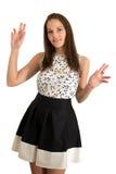 Jonge knappe vrouw Royalty-vrije Stock Foto