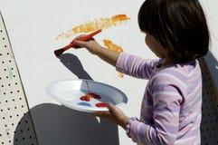Jonge kunstenaar 4 stock foto