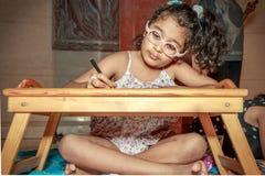 Jonge Kunstenaar op het Werk Royalty-vrije Stock Foto's