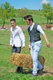 Jonge landbouwers Royalty-vrije Stock Foto's