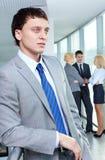 Jonge leider Stock Foto