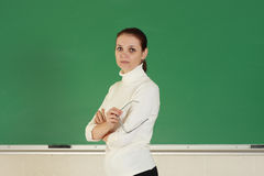 Jonge leraar Royalty-vrije Stock Afbeelding