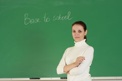 Jonge leraar Royalty-vrije Stock Afbeeldingen