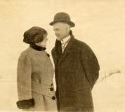 Jonge Liefde, lang geleden Stock Foto