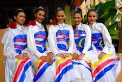 Jonge malay meisjes Stock Afbeelding