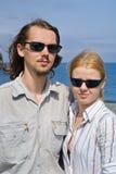 Jonge man en vrouw 11 Royalty-vrije Stock Afbeeldingen