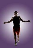 Jonge mannelijke atleet stock fotografie