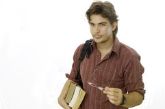 Jonge mannelijke student Royalty-vrije Stock Fotografie