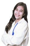 Jonge medische student Royalty-vrije Stock Afbeeldingen
