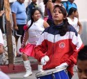 Jonge meisjesslagwerker Royalty-vrije Stock Afbeelding
