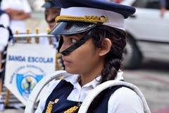 Jonge meisjesslagwerker Stock Foto's
