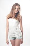 Jonge meisjest-shirt Royalty-vrije Stock Foto