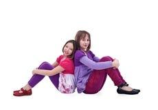 Jonge meisjesvrienden Royalty-vrije Stock Foto's