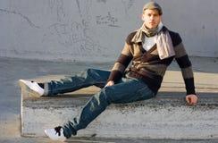 Jonge mens Stock Foto's