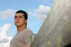 Jonge mens. Stock Foto