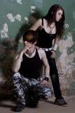 Jonge mens en het meisje royalty-vrije stock foto's
