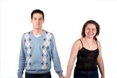 Jonge mens en meisje 2 Stock Foto