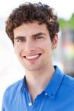 Jonge mens het glimlachen Stock Afbeelding