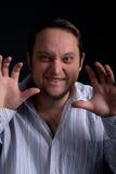 Jonge mens het lachen Royalty-vrije Stock Fotografie