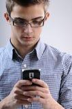 Jonge mens het zoeken Royalty-vrije Stock Foto's