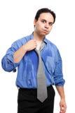 Jonge mens het zweten Stock Fotografie