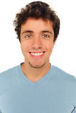 Jonge mens met baard Royalty-vrije Stock Foto's