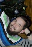 Jonge mens met een baard Stock Afbeeldingen