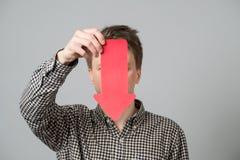 Jonge mens met pijlen Royalty-vrije Stock Afbeeldingen