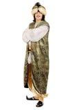 Jonge mens in oosters kostuum royalty-vrije stock afbeelding