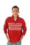 Jonge mens in sweater Royalty-vrije Stock Fotografie