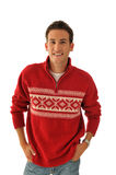 Jonge mens in sweater Stock Foto