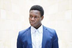 Jonge mens van Afrikaanse afdaling royalty-vrije stock afbeelding