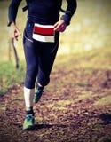 Jonge mensenlooppas met sportwear Royalty-vrije Stock Afbeelding