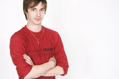 Jonge mensenportret Royalty-vrije Stock Foto
